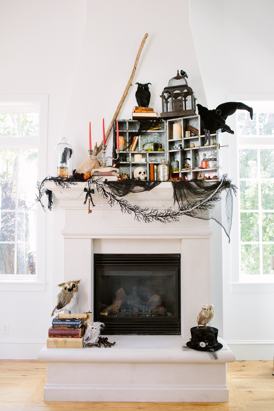 Easy DIY Haunted House Ideas