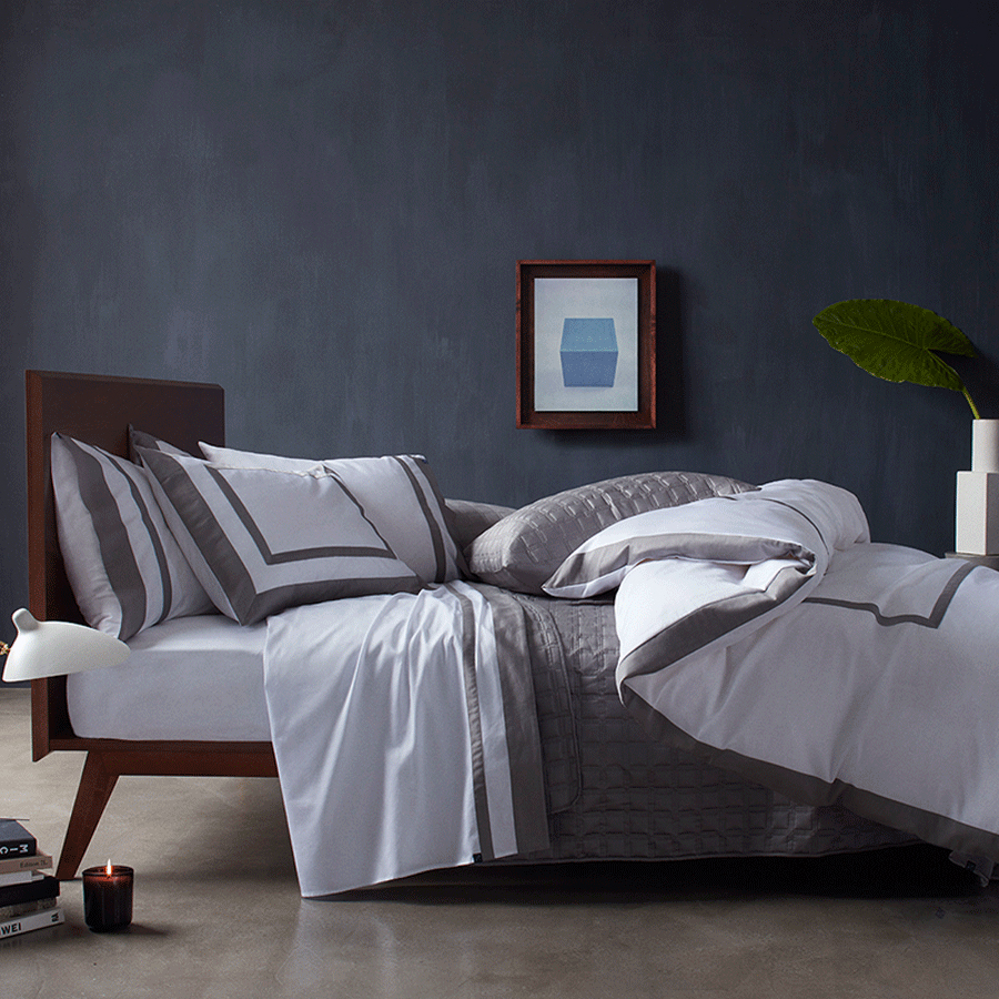 10 Grove Bedding The Hudson Sleek and Tailored