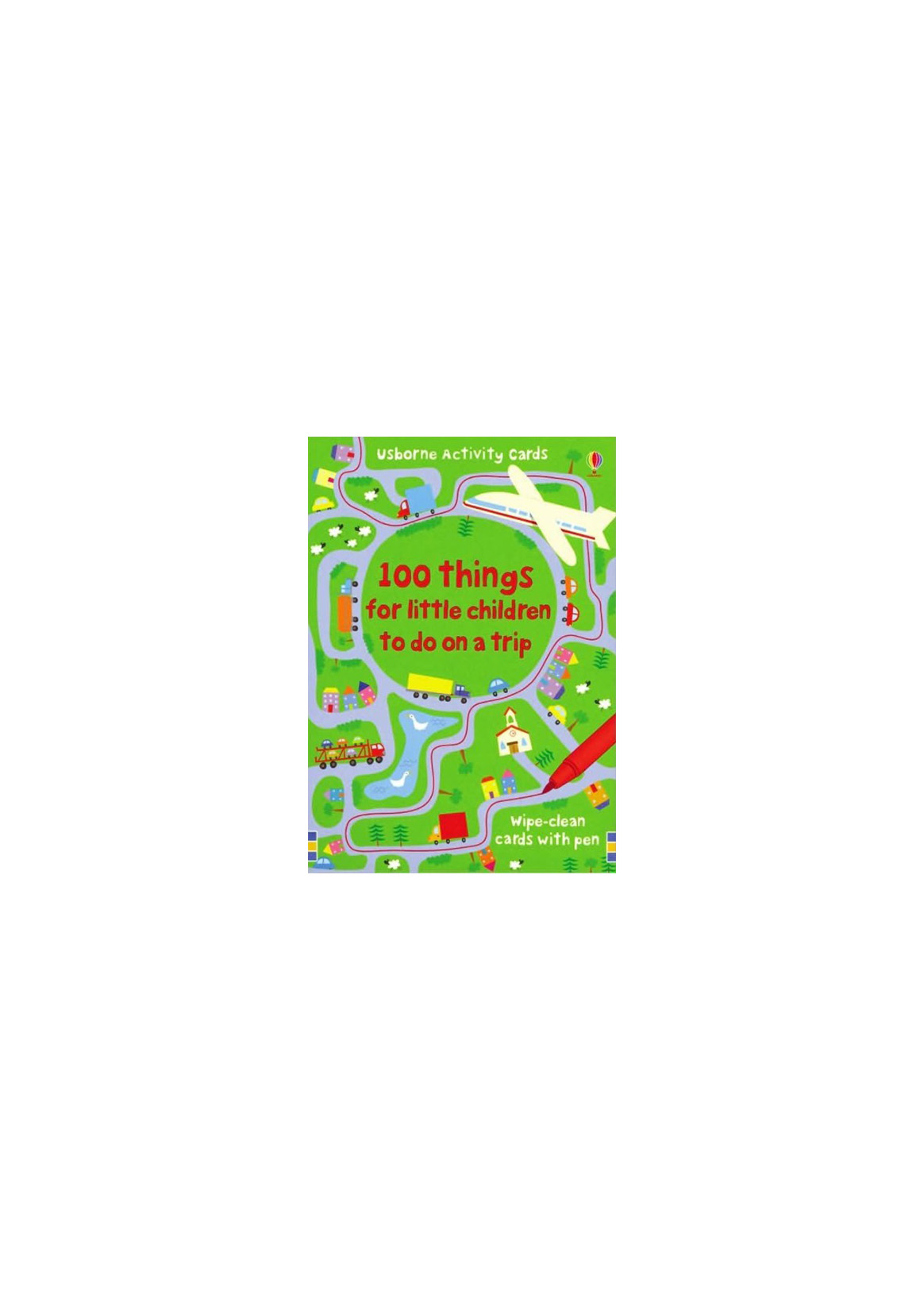 100 Things for Little Children to Do on a Trip (Activity Cards Series)