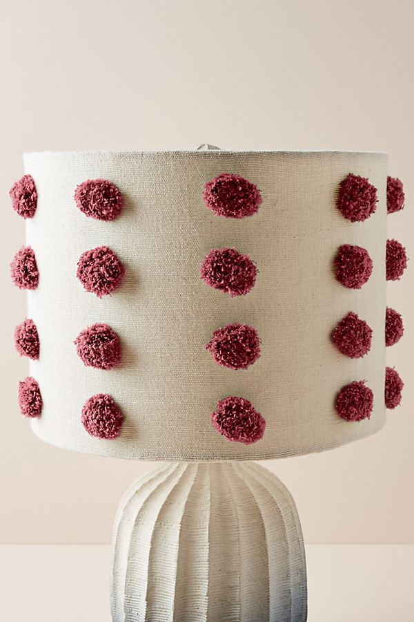 Tufted Bungalow Lamp Shade