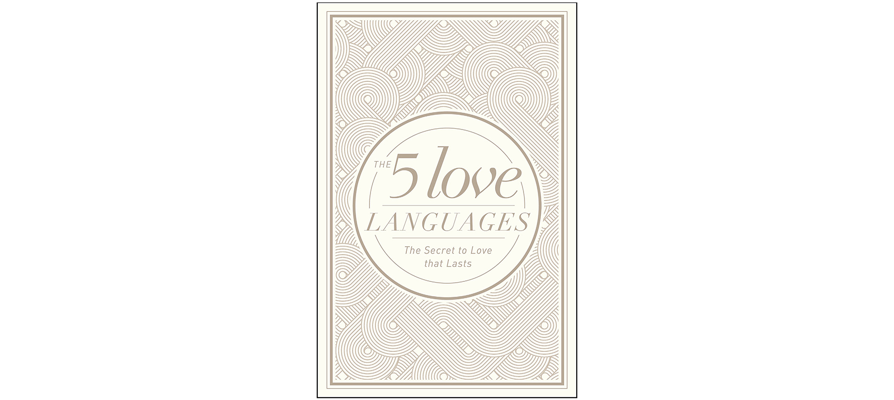 Cover of The 5 Love Languages, by Gary Chapman