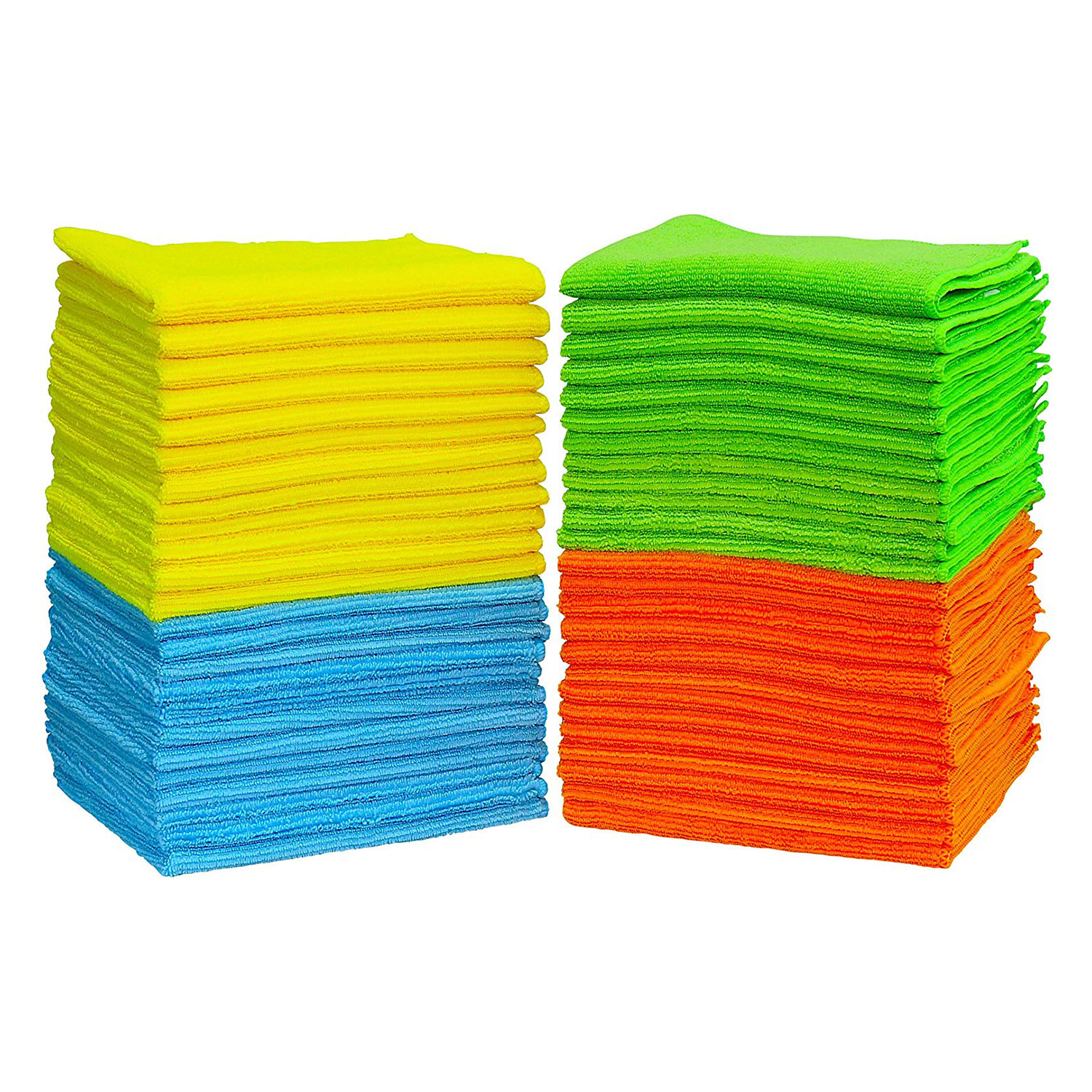50 Pack SimpleHouseware Microfiber Cleaning Cloth