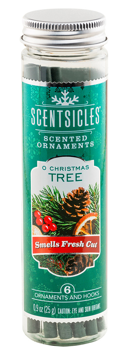 Scentsicles O Christmas Tree Scented Ornaments