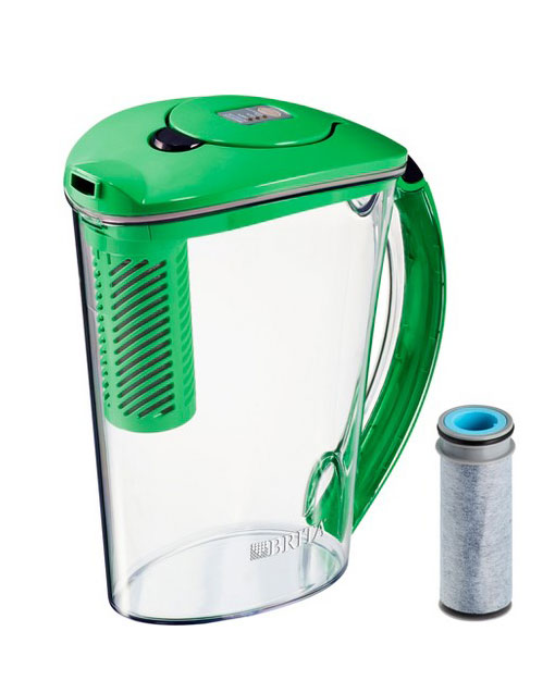 Dorm Room Idea: Brita Stream 10 Cup BPA Free Filter-As-You-Pour Water Pitcher