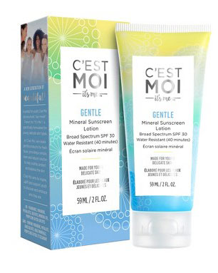 Best Mineral Sunscreens: C'est Moi Gentle Mineral Sunscreen Lotion SPF 30