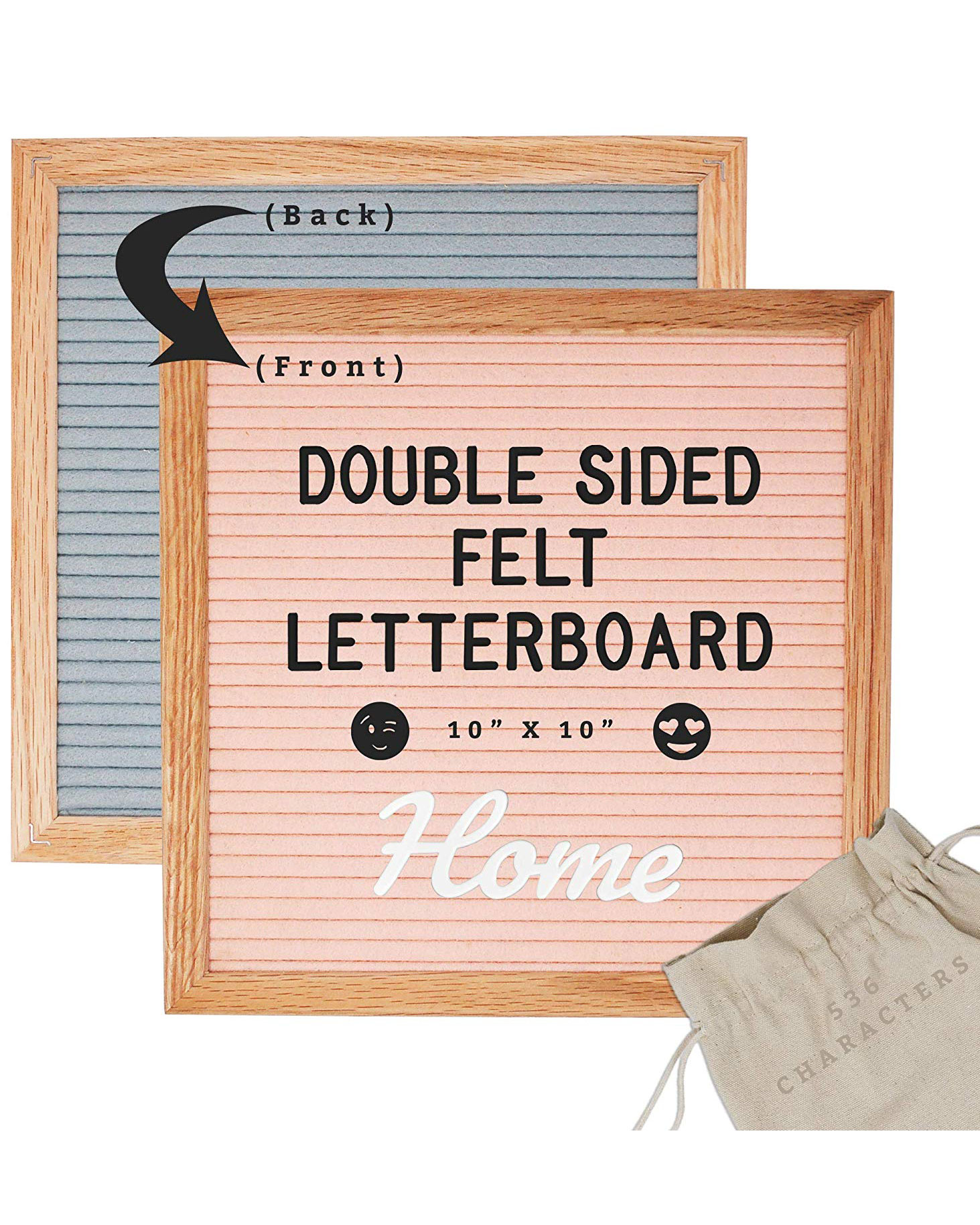 Double Sided Letterboard