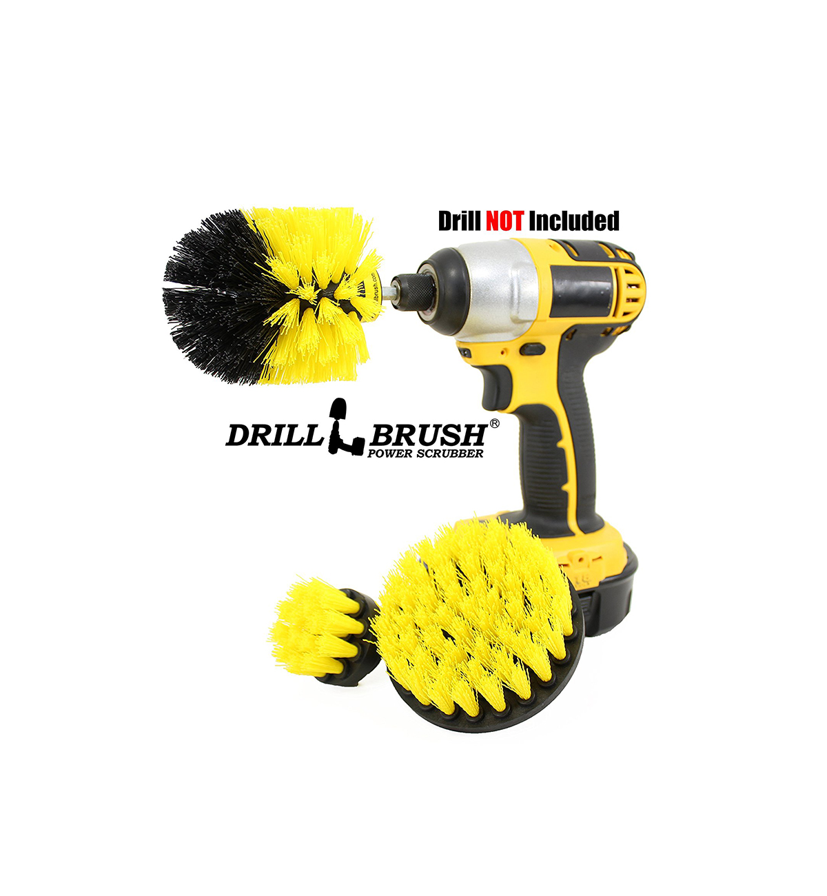 Amazon Best Sellers, drill scrub brush