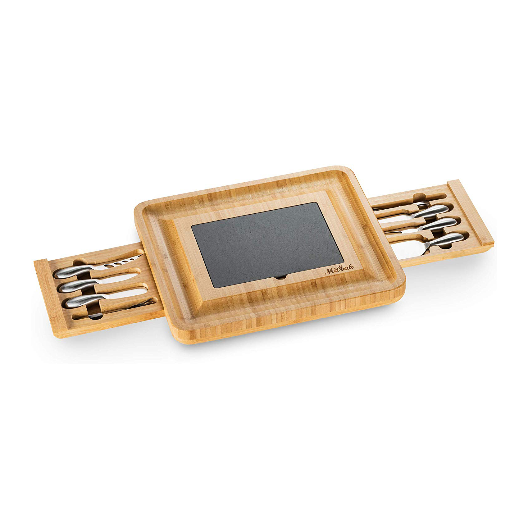 Cheese Cutting Board and Charcuterie Set