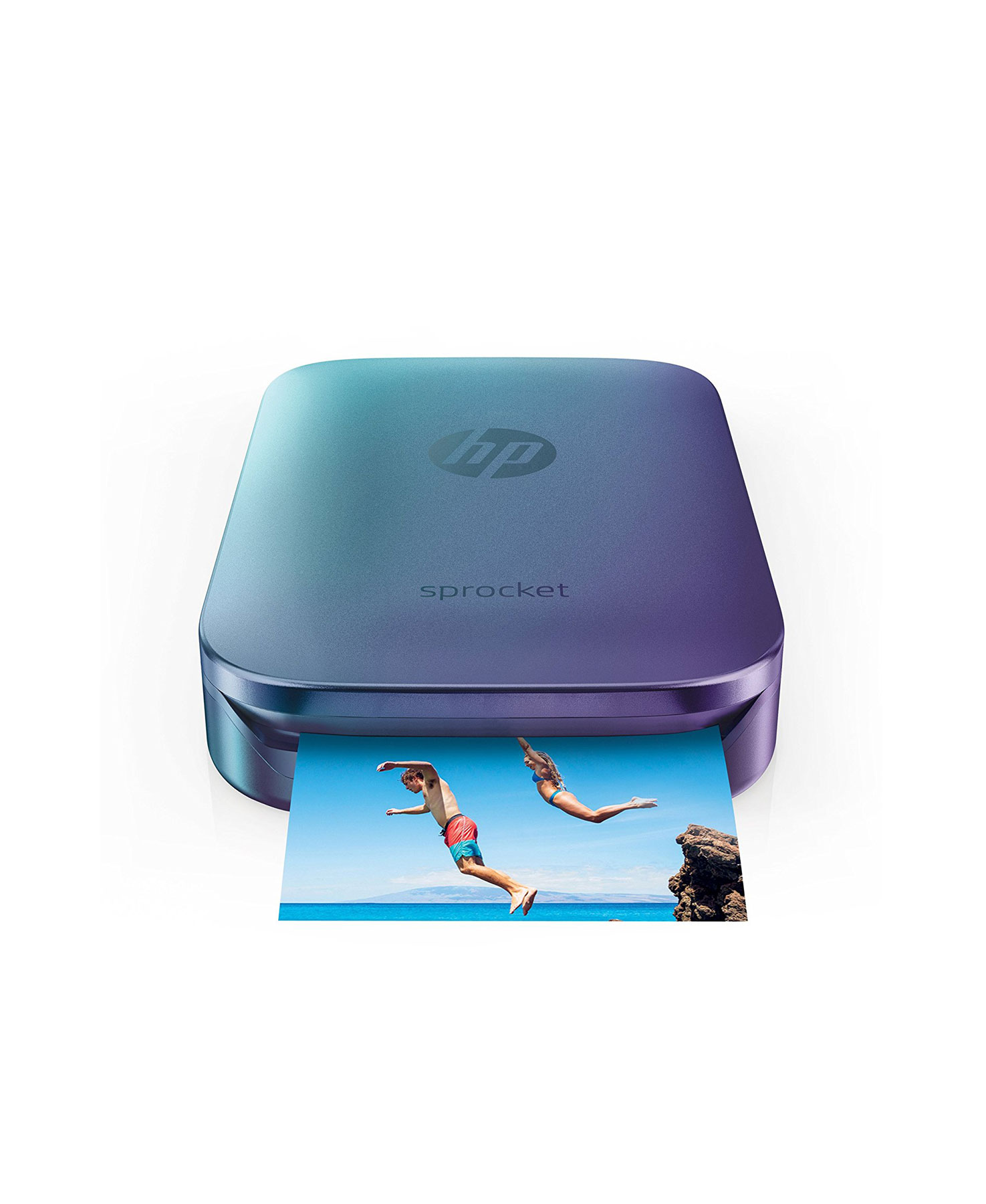 HP Blue Sprocket Portable Photo Printer