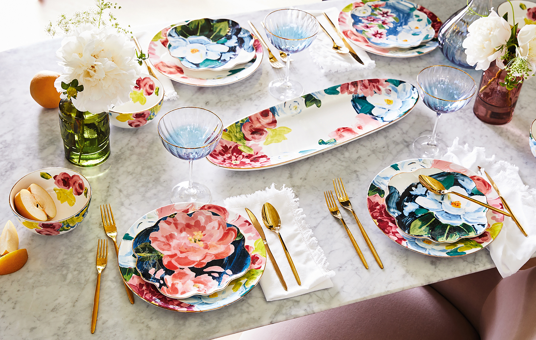 Eclectic Anais Dinner Plates
