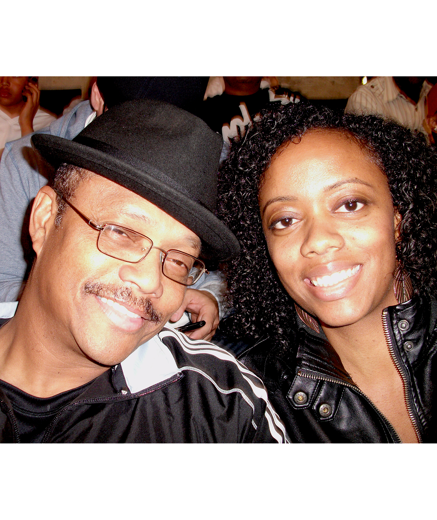Angela Flournoy and her dad