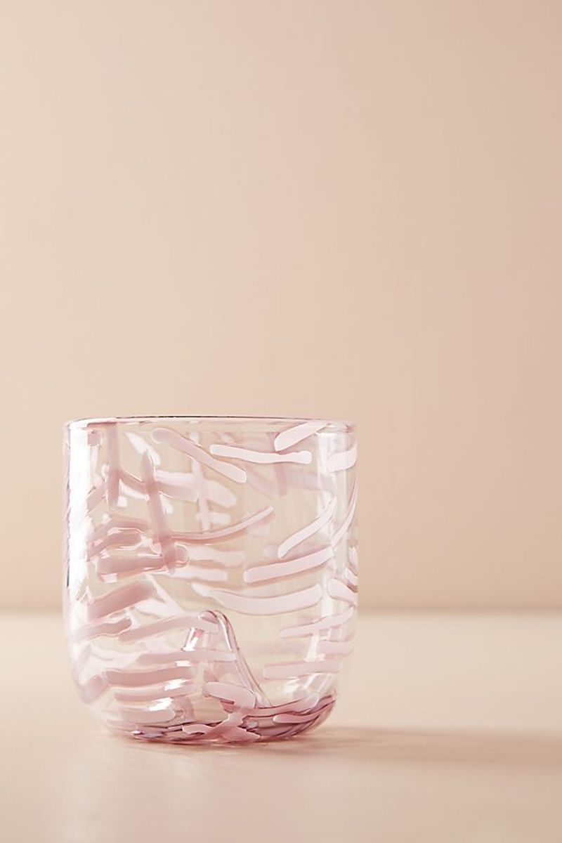 Lavender Glass Cup