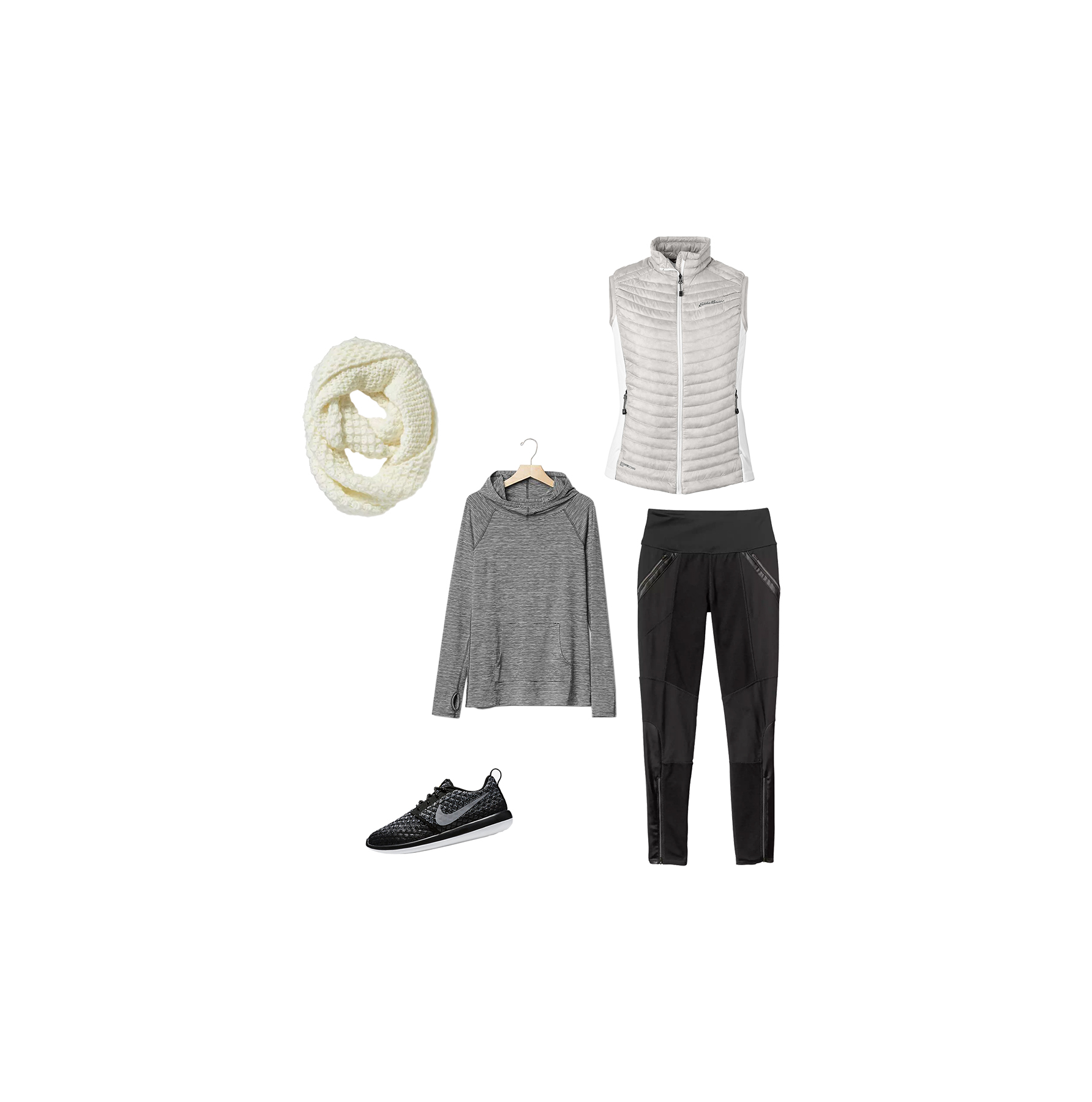 Athleisure leggings outfit