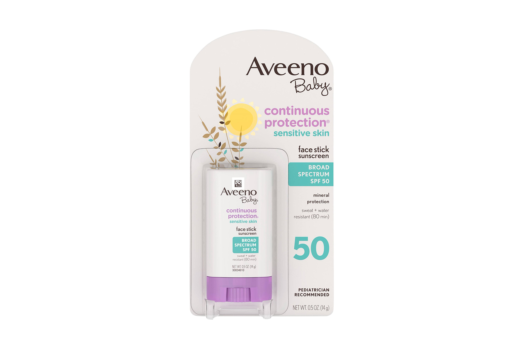 Aveeno Baby Continuous Protection Face Sunscreen Stick