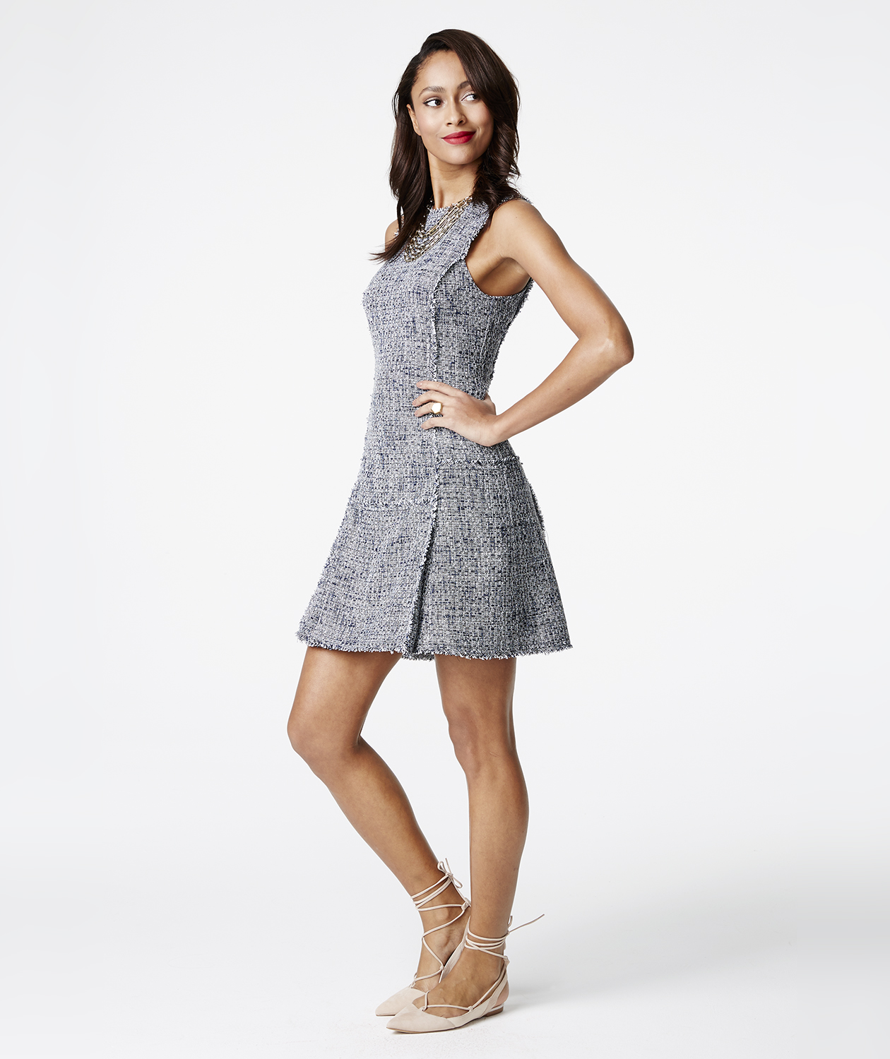Banana Republic gray dress