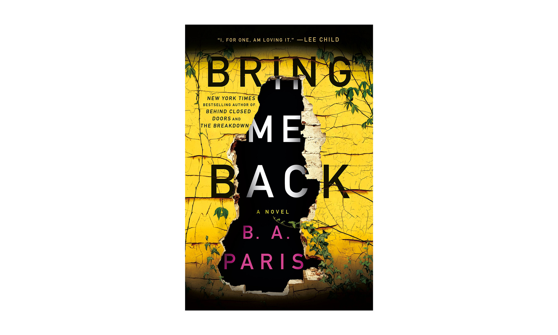 Barnes and Noble Book Sale Bring Me Back, by B. A. Paris