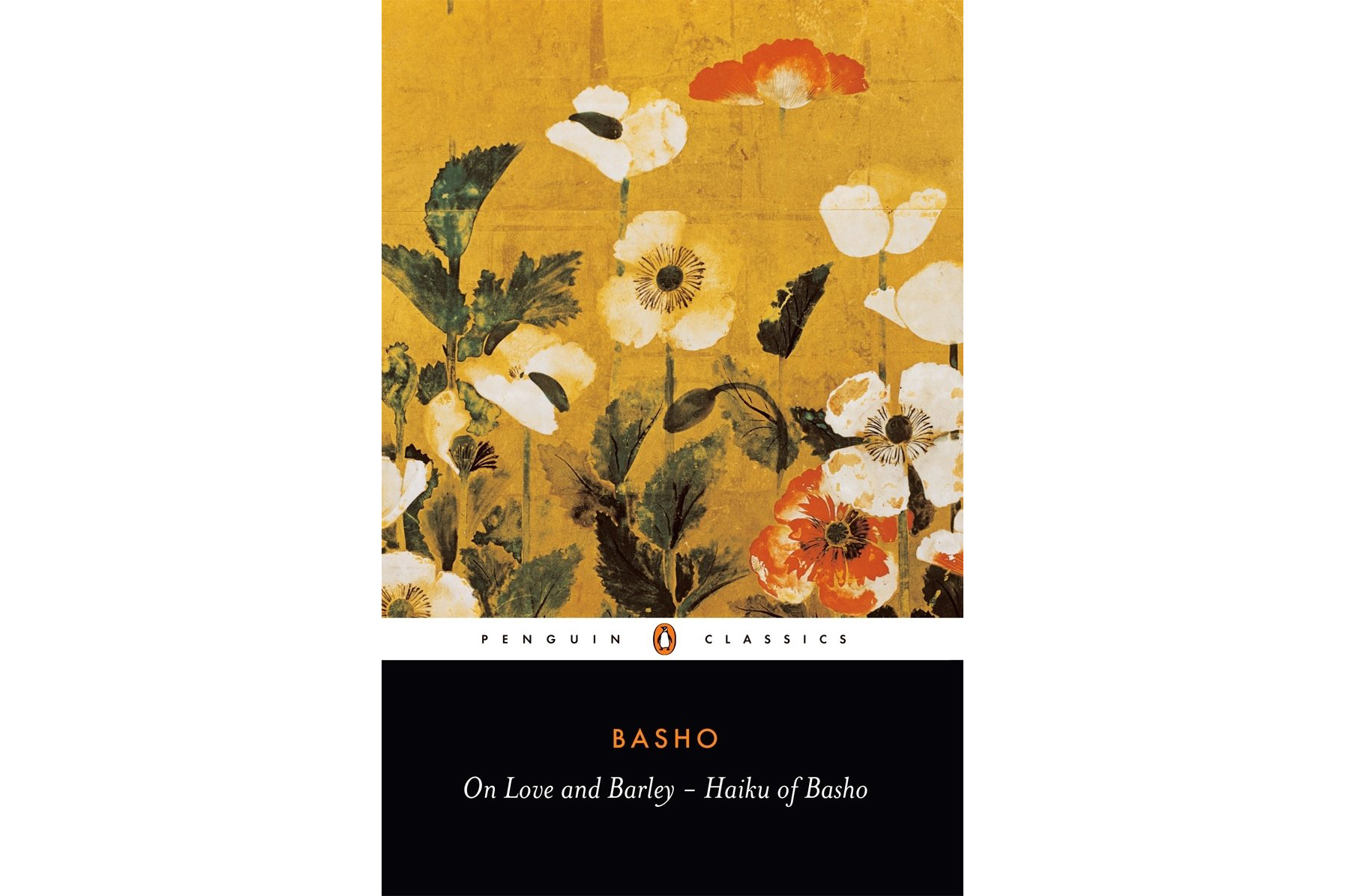 On Love and Barley, by Matsuo Bashō Cover