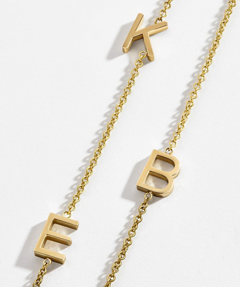 Best Gift for Jewelry Lovers: BaubleBar Maya Brenner Asymmetrical Character Necklace
