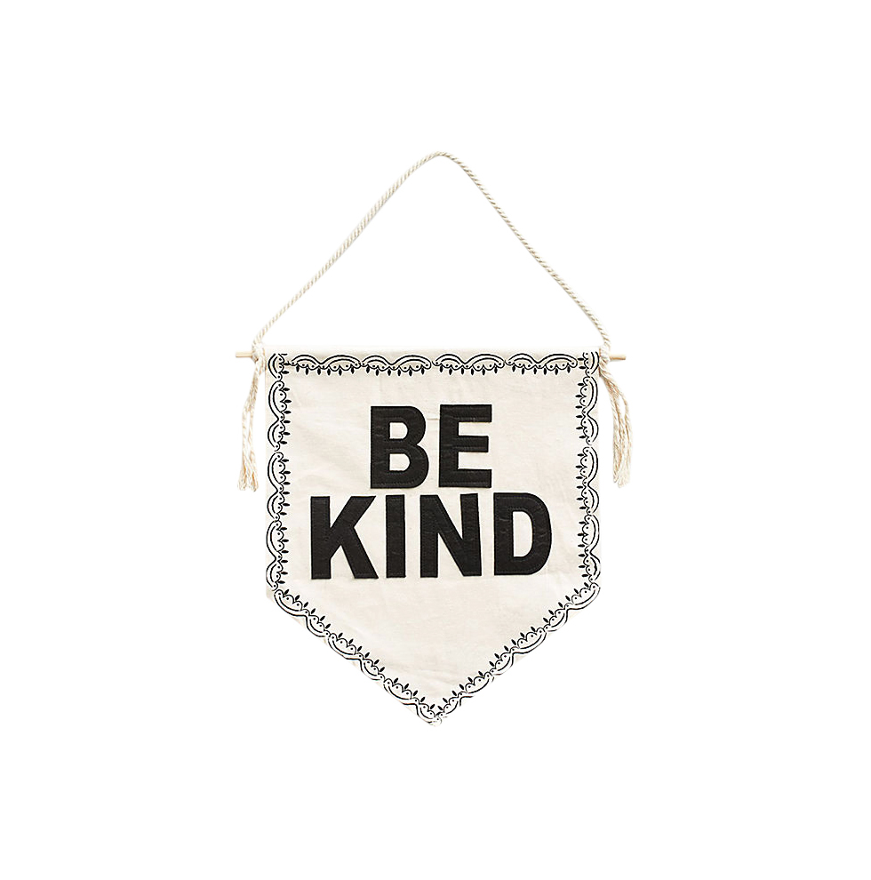 Be Kind Wall Pennant