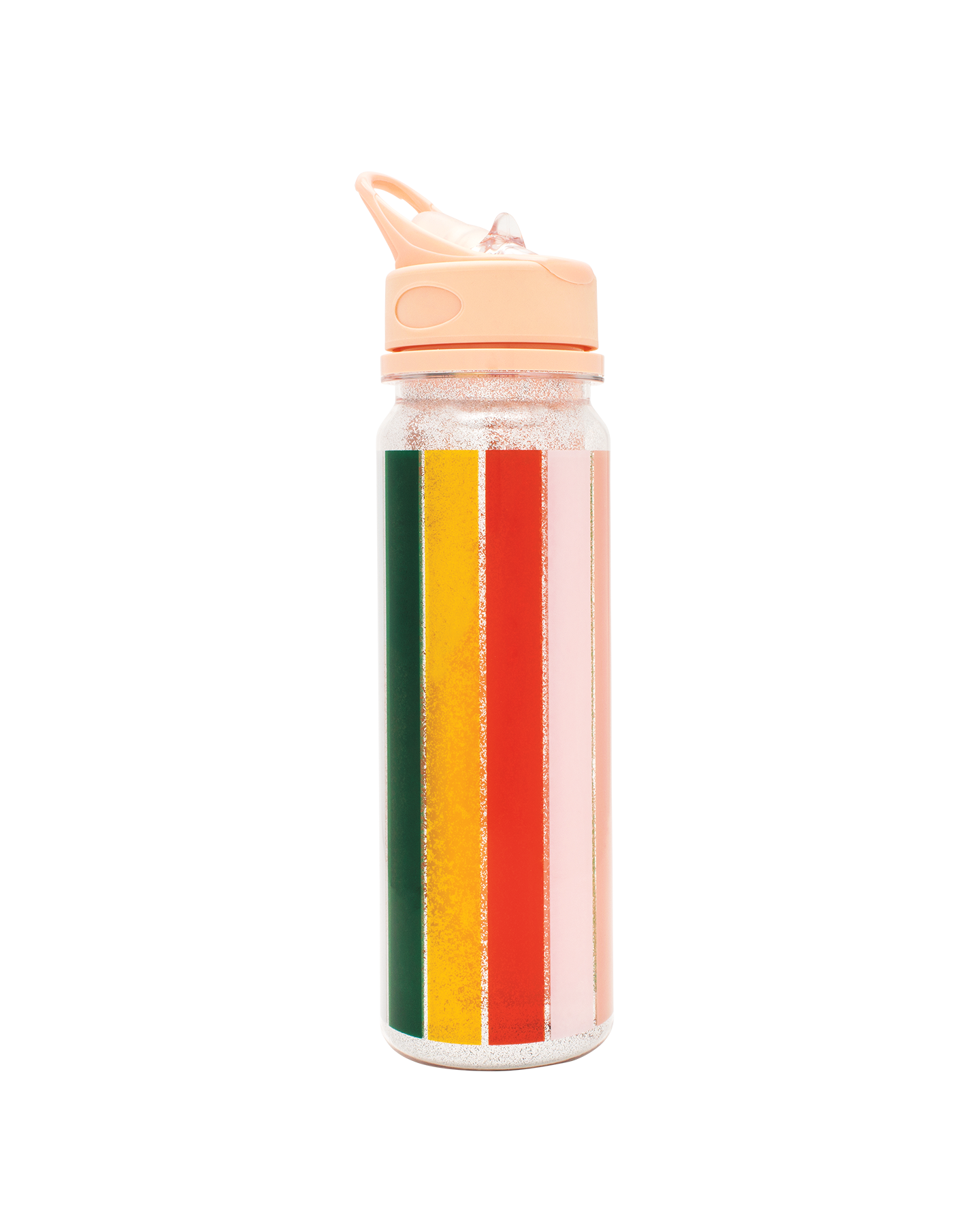 colorful striped beach bottle