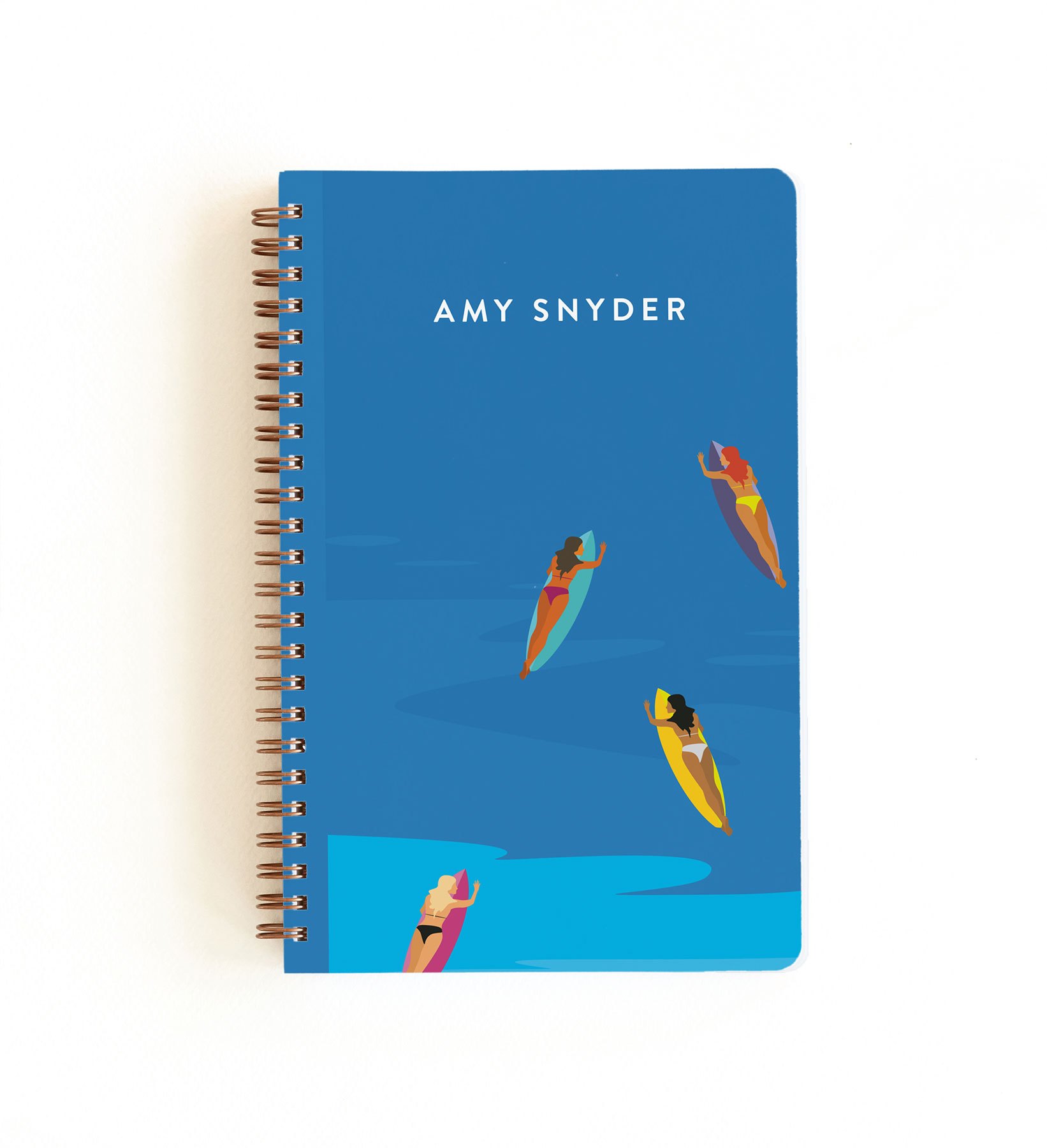 Learning to Surf Notebook by Lauren Hampton