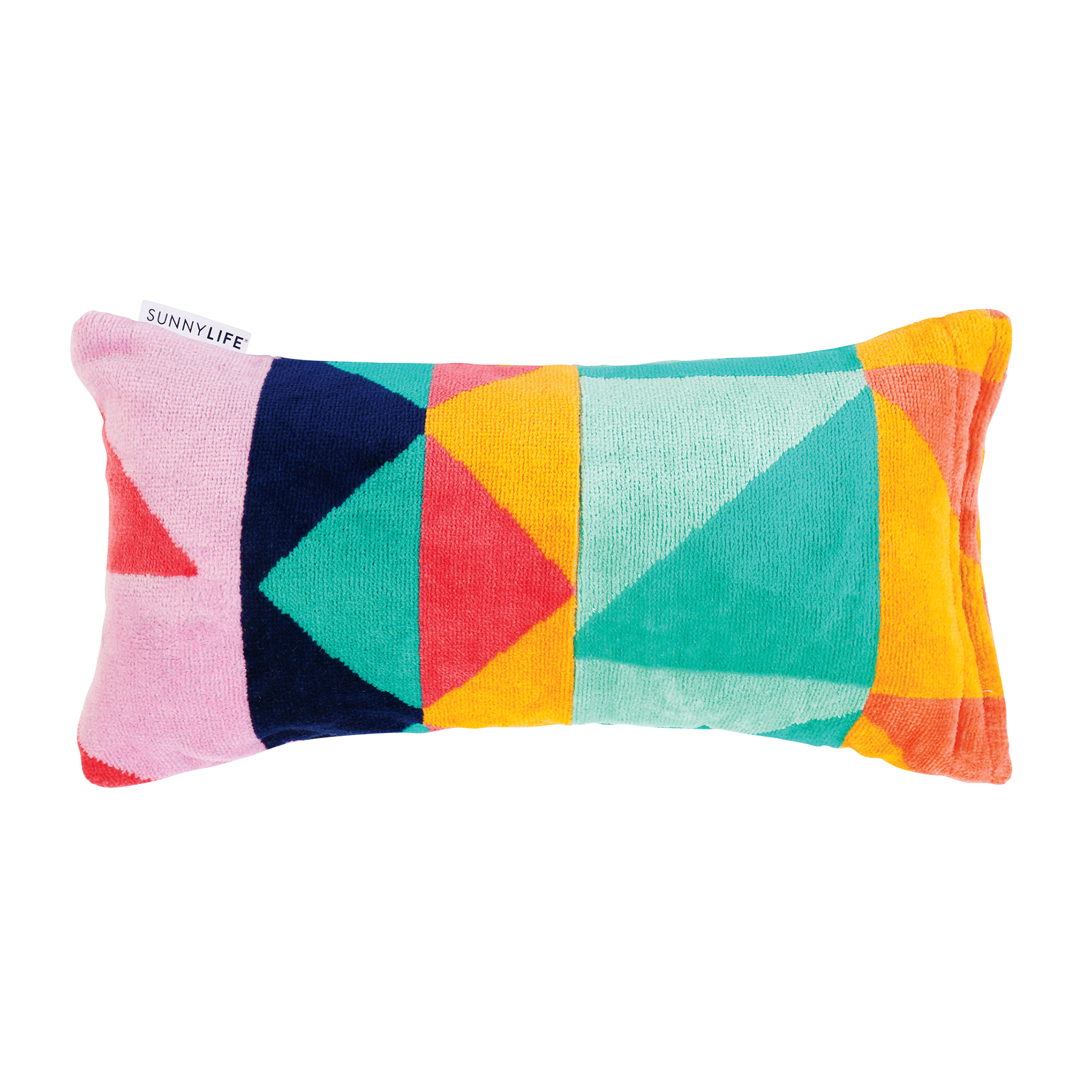Colorful Beach Pillow