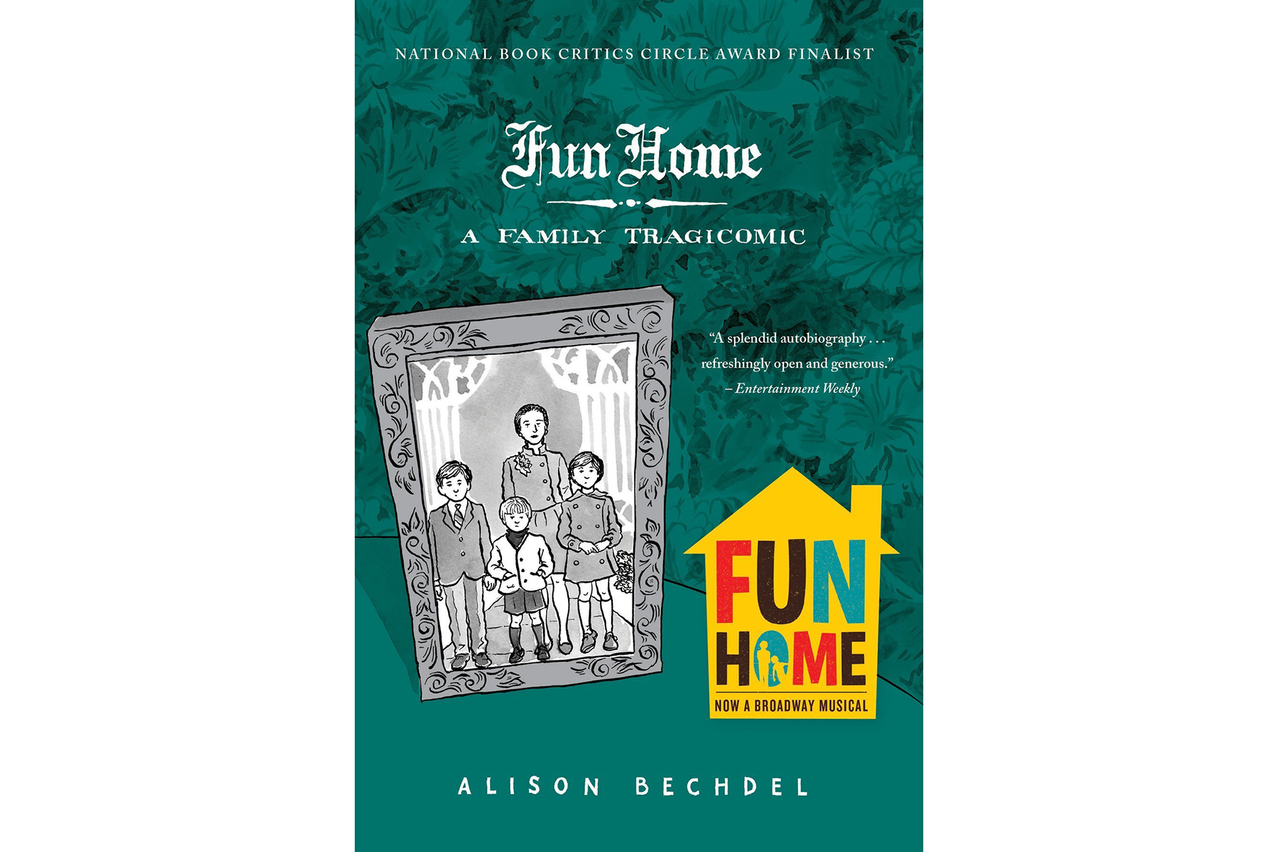 Fun Home, by Alison Bechdel Book Cover