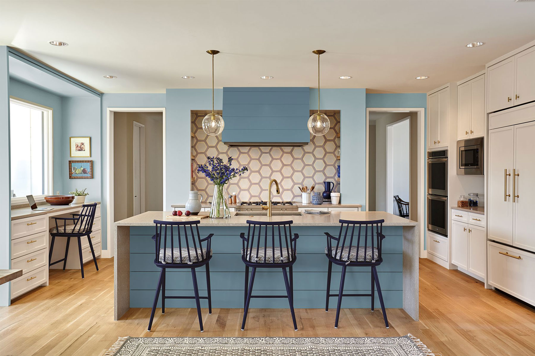 Behr Color of the Year 2019 - Kitchen