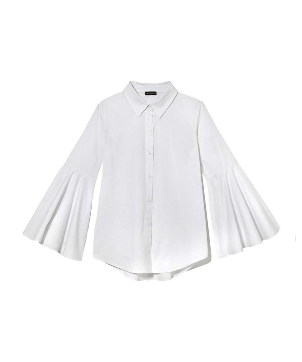 A Bell-Sleeve Blouse