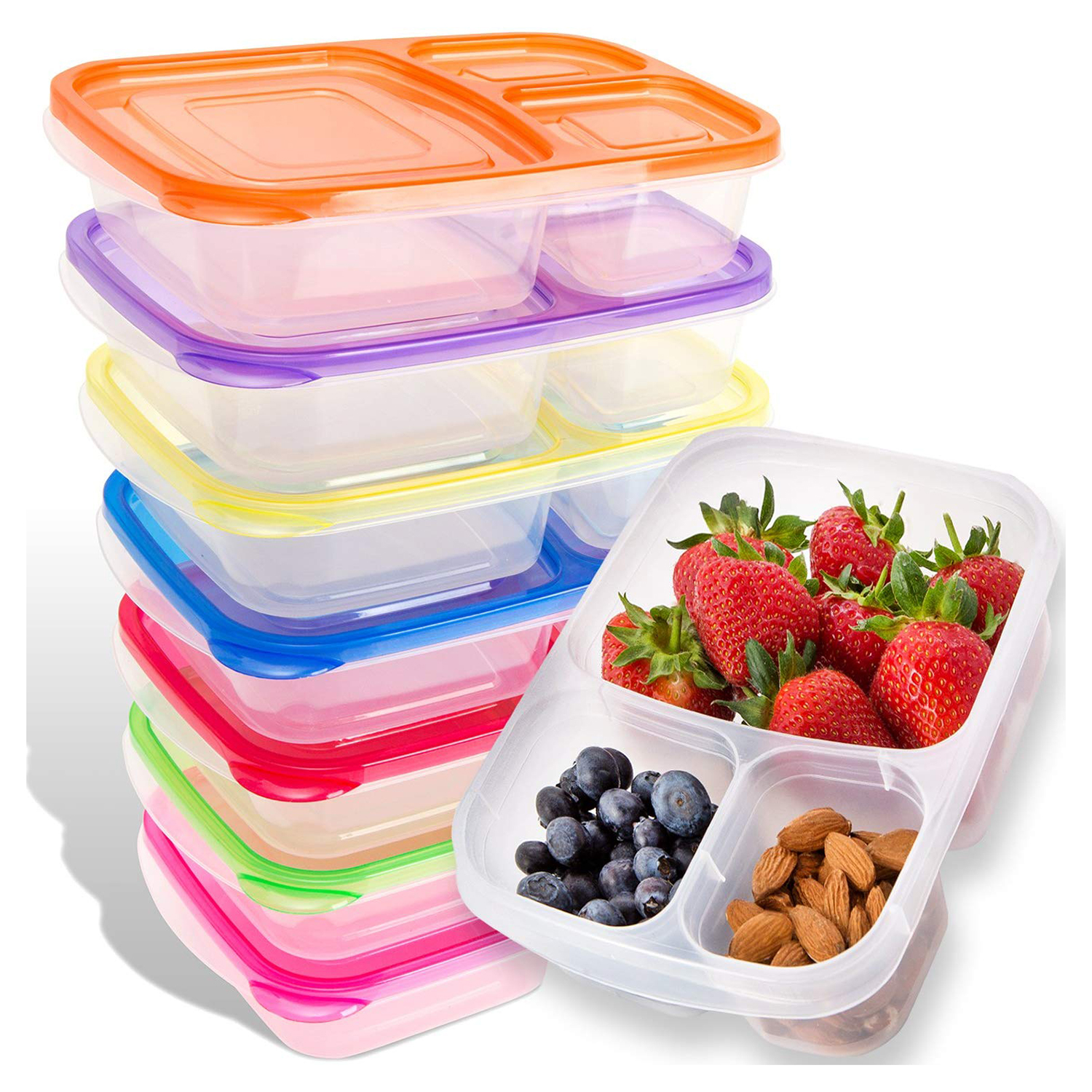 Meal Prep Containers 7 Pack Leak Proof