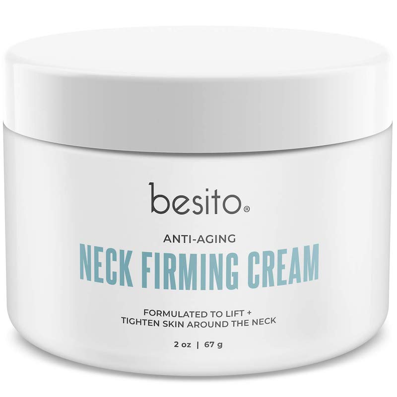 Best Anti-Aging Products According to Amazon Reviews: Besito Anti-Aging Neck Firming Cream