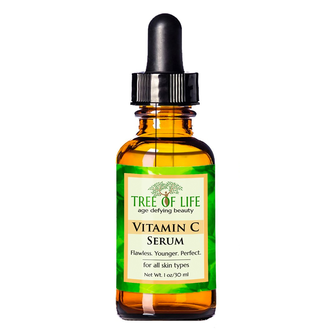 Best Anti-Aging Products and Serums on Amazon: Tree of Life Vitamin C Serum