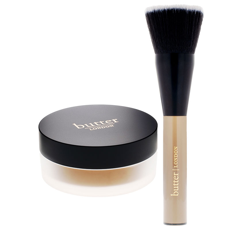 Best Beauty Products: Butter London Lumimatte Blurring Finishing & Setting Powder and Brush