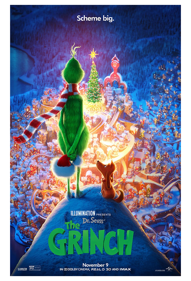 Christmas movies on Netflix 2019 - Dr. Seuss' The Grinch