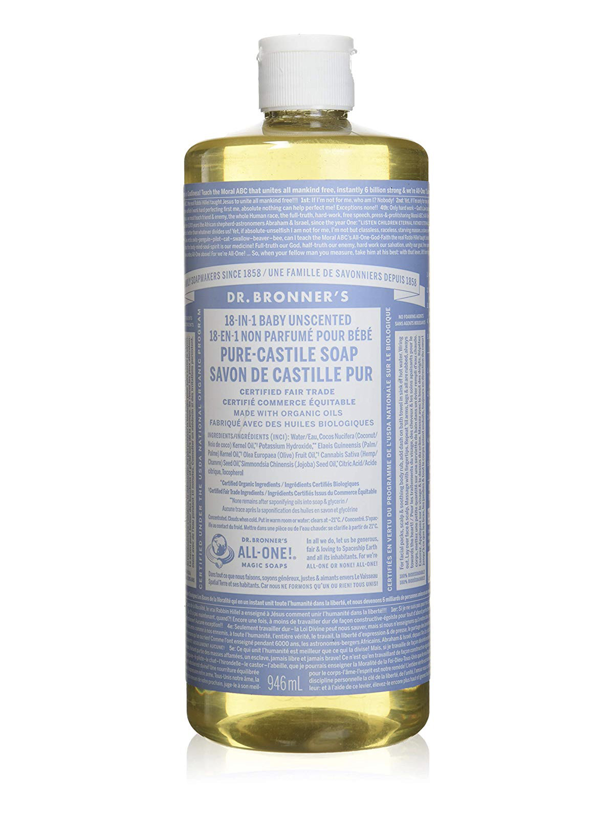 Best Cleaning Products, Dr. Bronner's Castile Soap