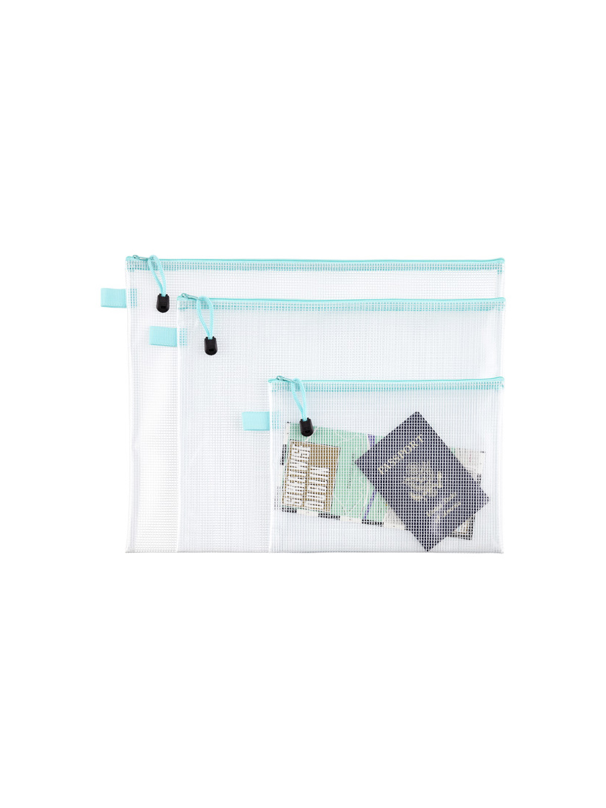 Best Container Store Organizers, Zip Pouches