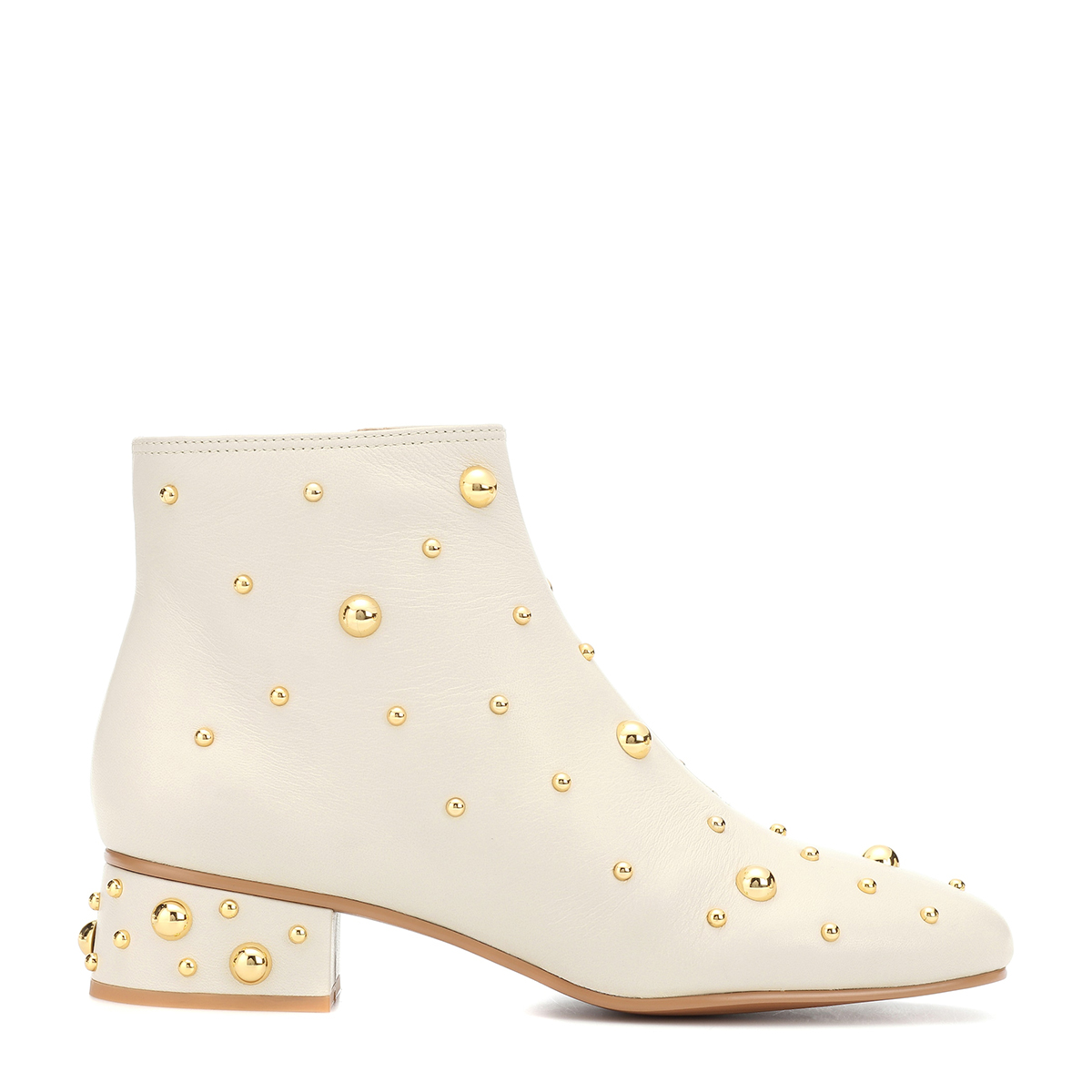 See by Chloé Abby Studded Leather Ankle Boots
