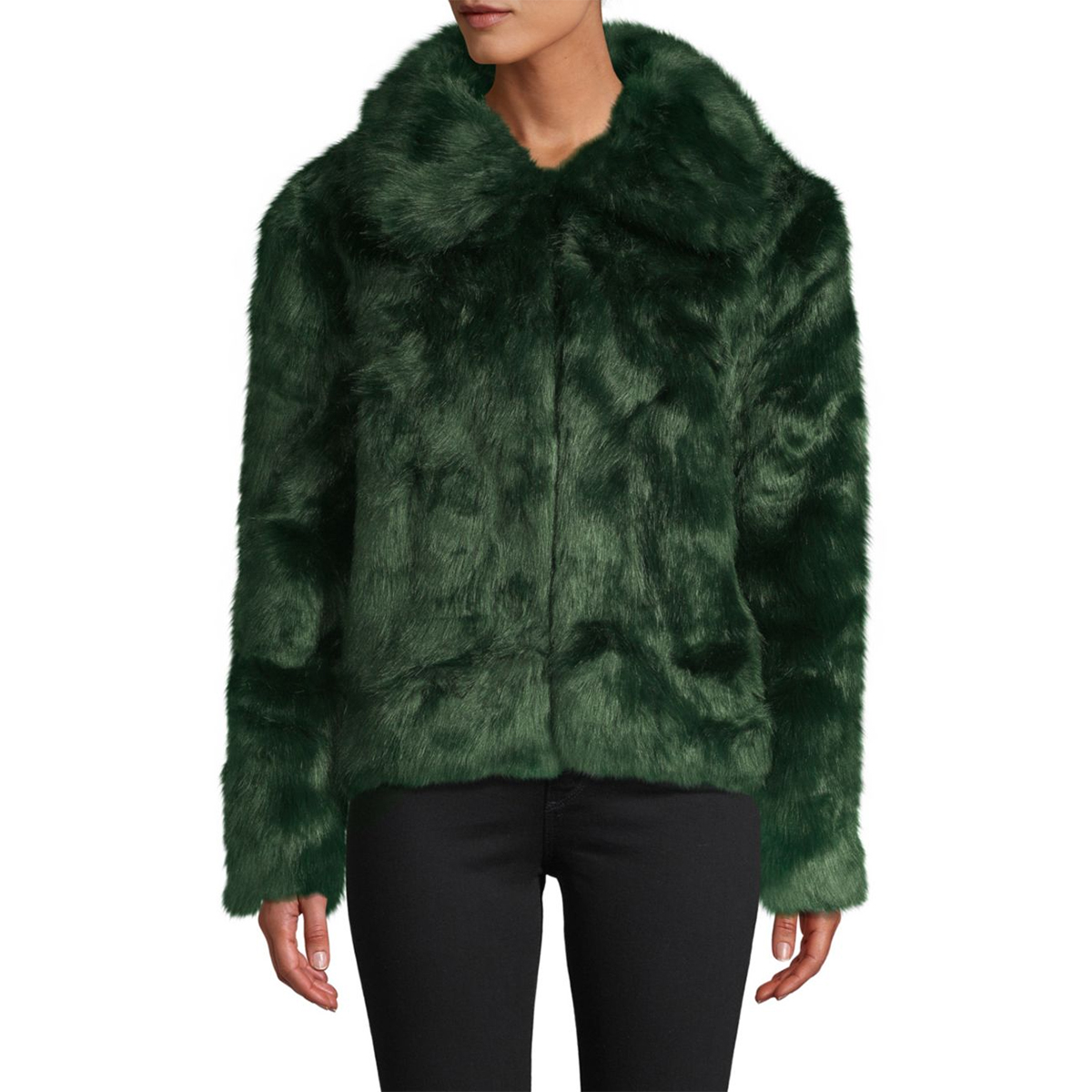 C&C California Emerald Faux Fur Jacket