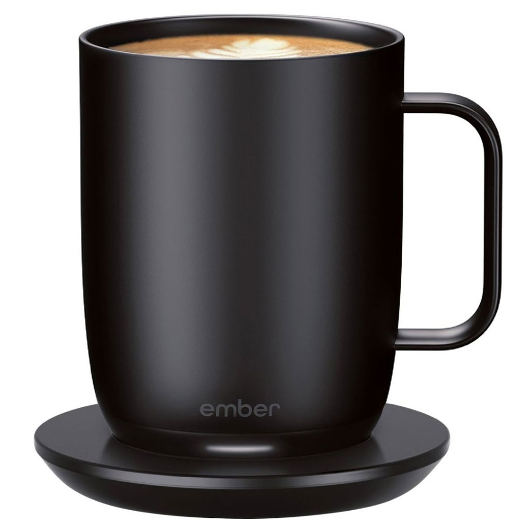 Best Gift for Moms on Tough Mornings: Ember Temperature-Controlled Ceramic Mug