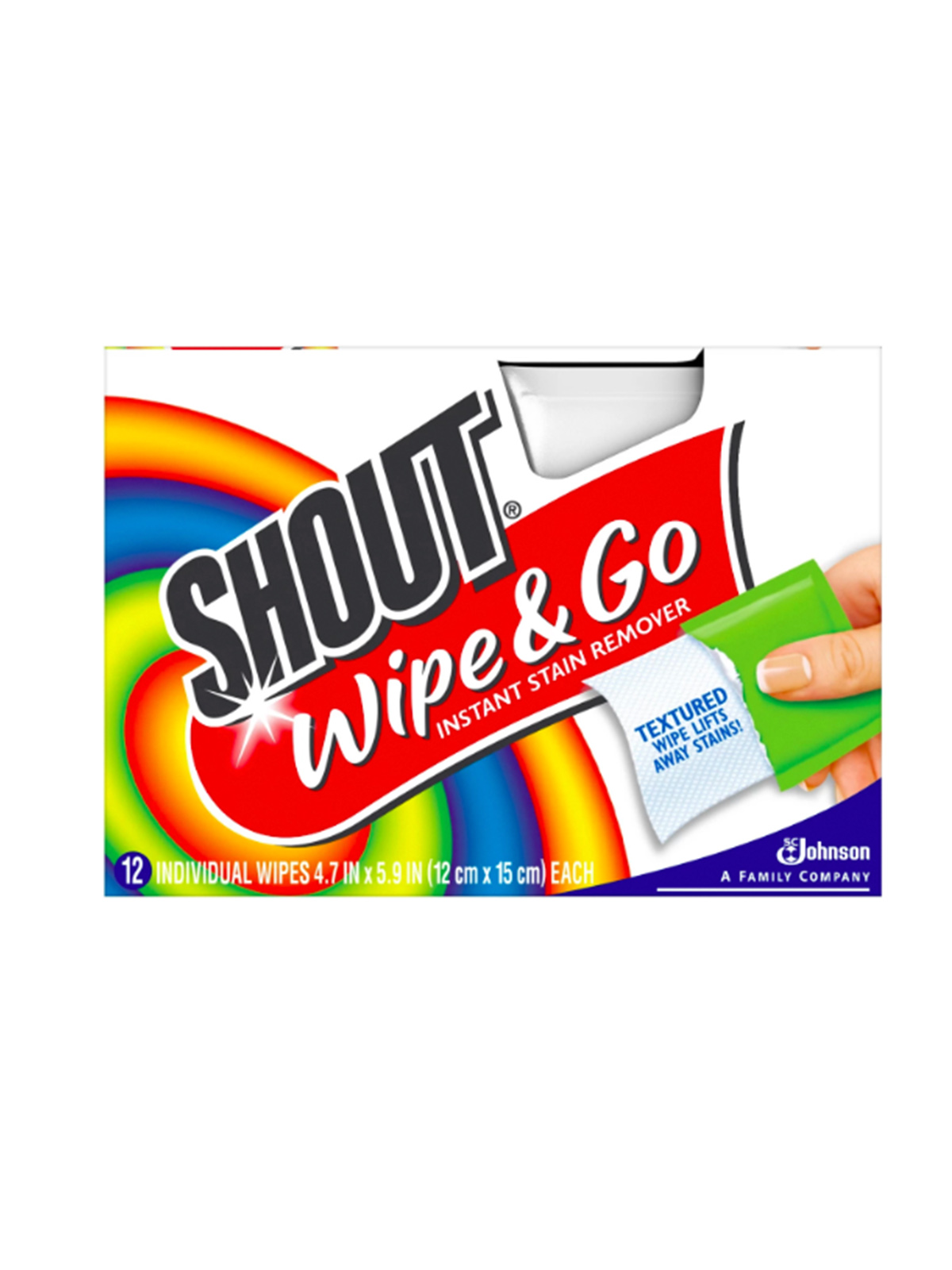 Best Mini Travel Stain Removers, Shout & Go Wipes
