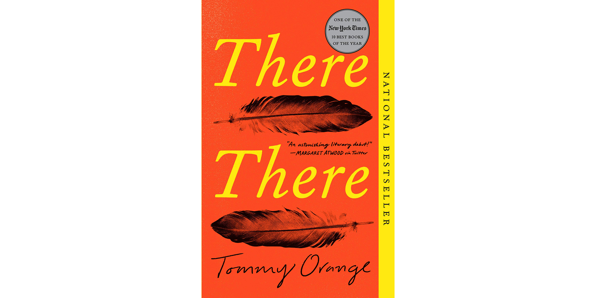 Cover of There There, by Tommy Orange