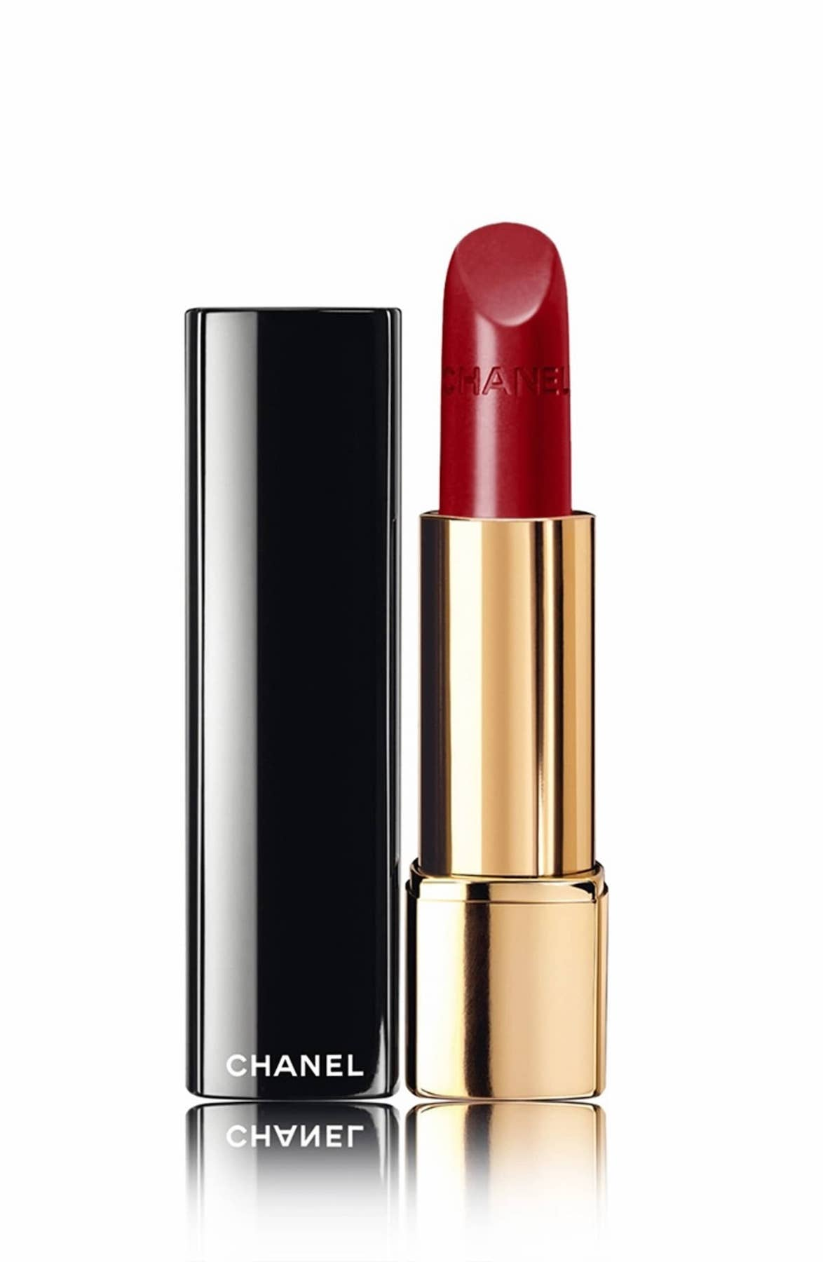 Chanel Rouge Allure Red Lipstick in Pirate
