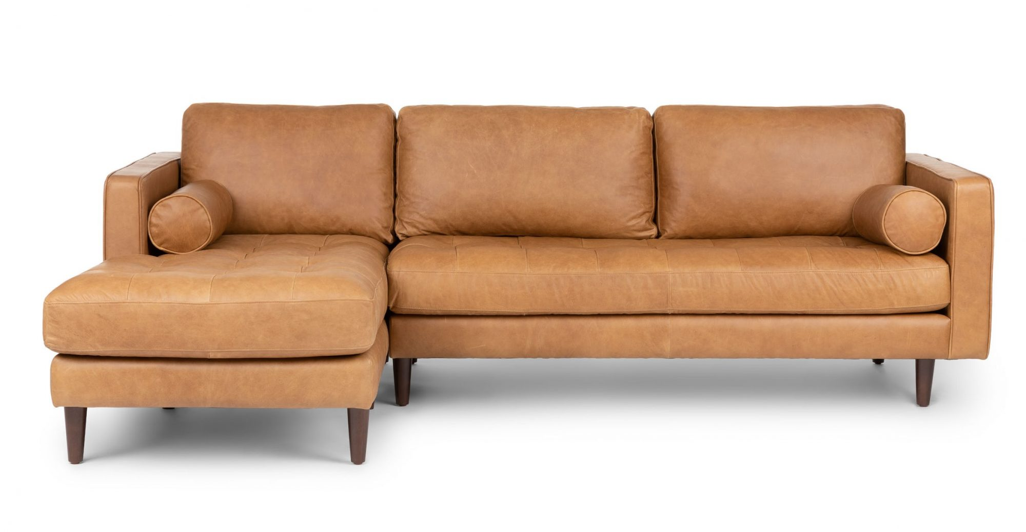 Sven leather sectional