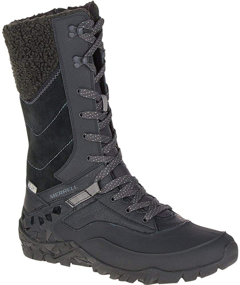 Best snow and ice boots for women - Merrell Women's Aurora Tall Ice Plus Waterproof Snow Boot