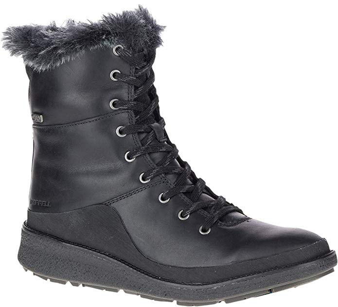 Best snow and ice boots for women - Merrell Tremblant Ezra Lace Waterproof Ice+