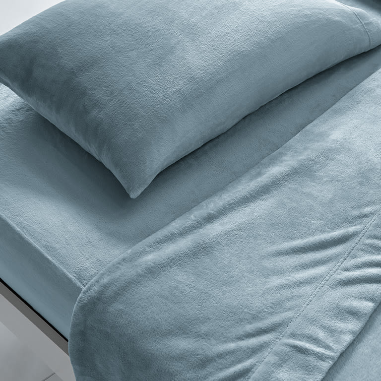 Best Winter Sheets, Sleep Number blue sheets