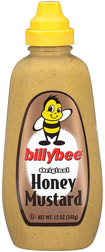 Billy Bee Squeeze Honey Mustard
