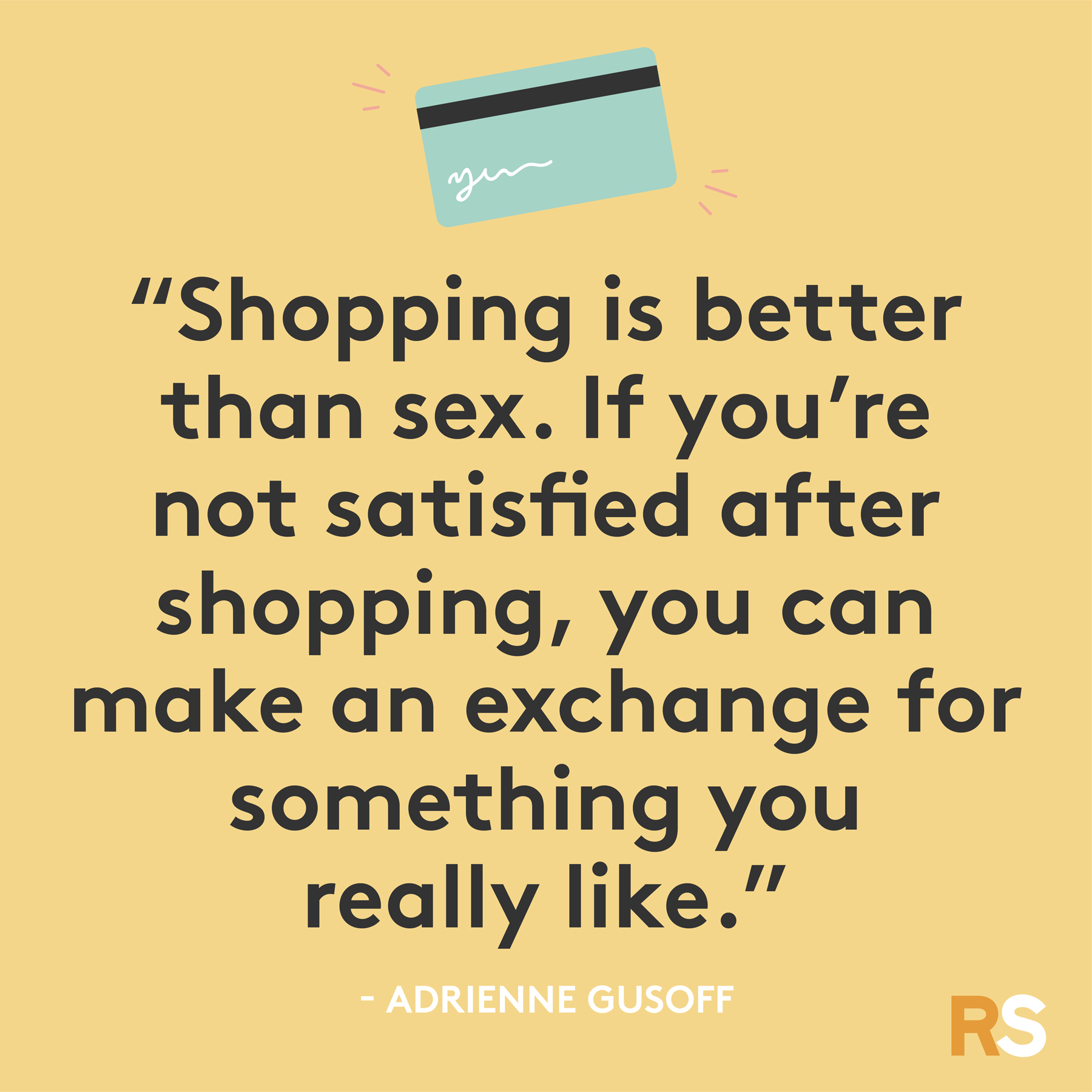Black Friday funny quotes, sayings - Adrienne Gusoff