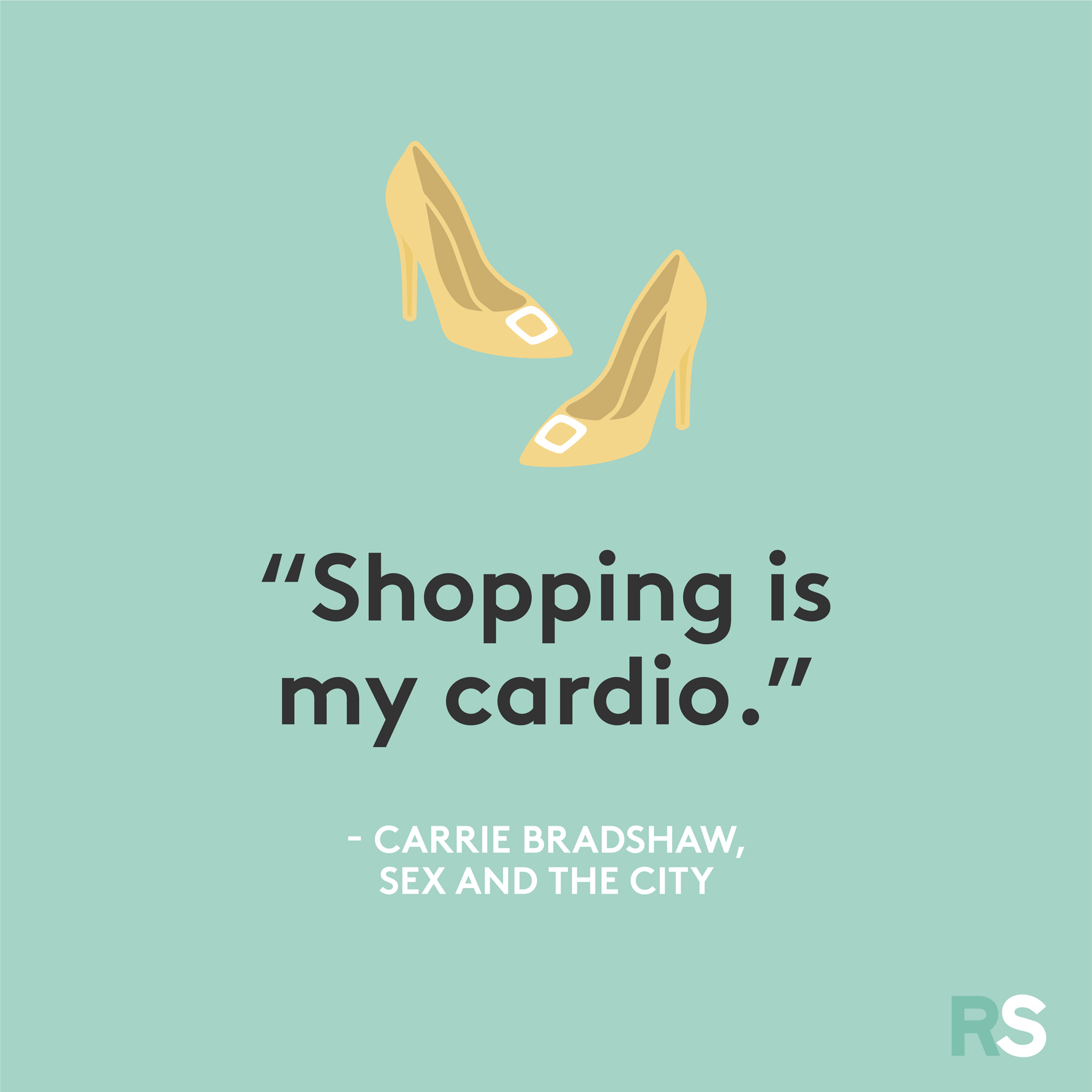 Black Friday funny quotes, sayings - Carrie Bradshaw, Sex and the City
