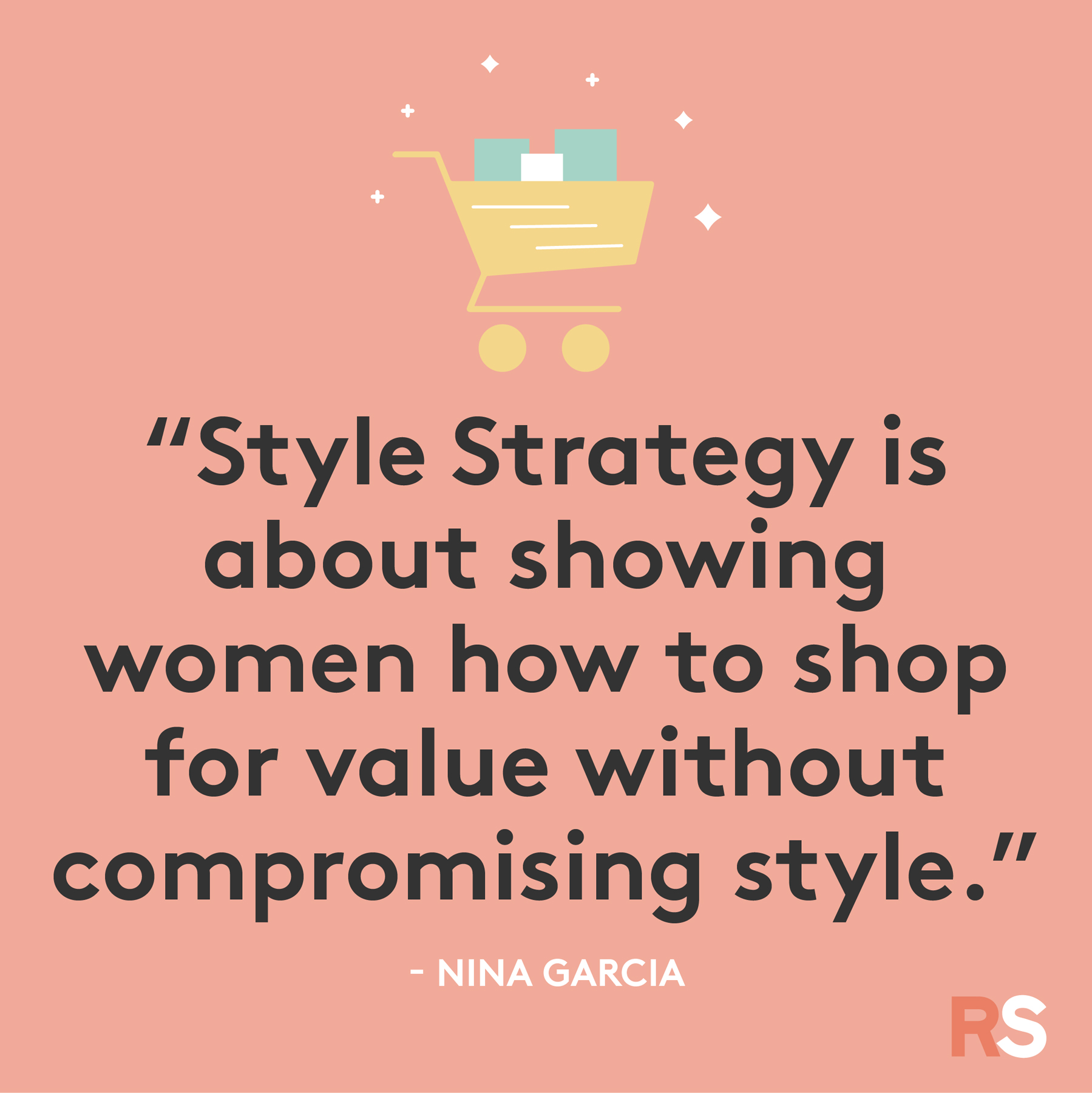 Black Friday funny quotes, sayings - Nina Garcia, Style Strategy